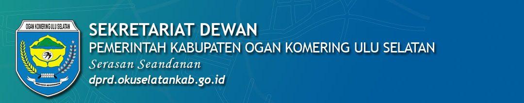 Portal Resmi Sekretariat Dewan Pemerintah Kabupaten OKU Selatan